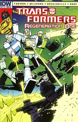 Transformers Regeneration One #87 Incentive Geoff Senior Variant Cover