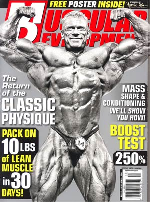 Muscular Development Magazine Vol 50 #2 Feb 2013