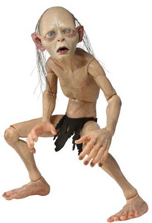 Lord Of The Rings Smeagol 1/4 Scale Action Figure