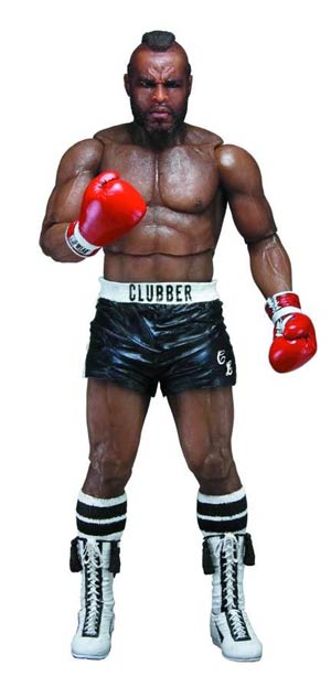 Rocky Series 3 Clubber Lang Black Shorts 7-Inch Action Figure