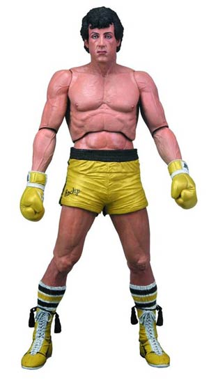 Rocky Series 3 Rocky Gold Shorts 7-Inch Action Figure
