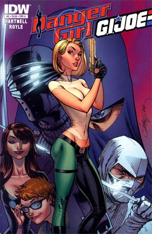 Danger Girl GI Joe #5 Regular Cover A