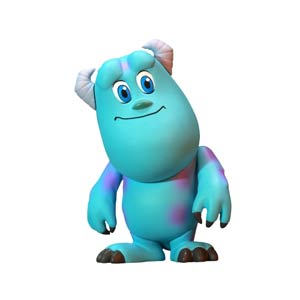Monsters Inc Cosbaby - Sulley