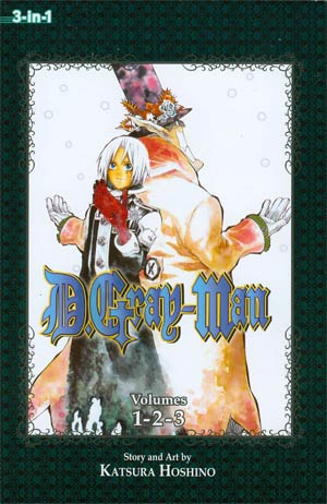 D.Gray-man 3-In-1 Edition Vols 1 - 2 - 3 TP