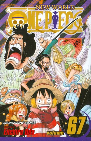 One Piece Vol 67 New World GN