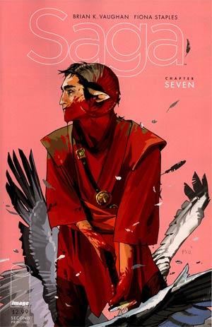 Saga #7 Cover C 2nd Ptg