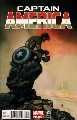 Captain America Vol 7 #3 Incentive Alex Maleev Variant Cover