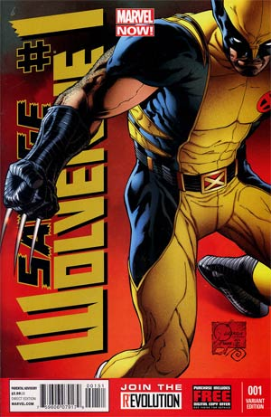 Savage Wolverine #1 Incentive Joe Quesada Variant Cover