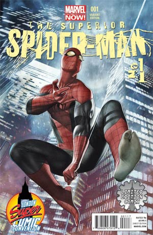 Superior Spider-Man #1 Limited Edition Comix Adi Granov Variant Cover