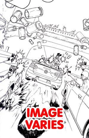 Freelancers #3 Incentive Felipe Smith Virgin Sketch Cover