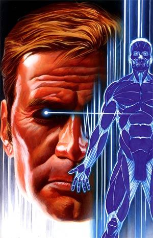 Bionic Man #15 Incentive Alex Ross Virgin Cover
