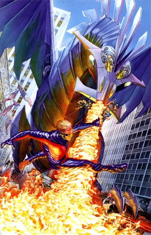 Peter Cannon Thunderbolt Vol 2 #5 Incentive Alex Ross Virgin Cover