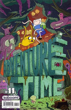 Adventure Time #11 Regular Cover A Chris Houghton