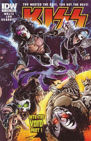 KISS Vol 2 #7 Regular Cover A Kenneth Loh