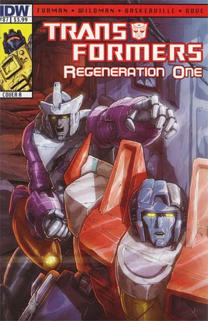 Transformers Regeneration One #87 Regular Cover A Andrew Wildman