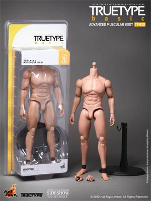 True Type 12-Inch Advanced Muscular Body Figure