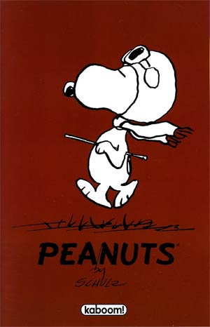 Peanuts Vol 3 #5 Incentive Flying Ace First Appearance Variant Cover