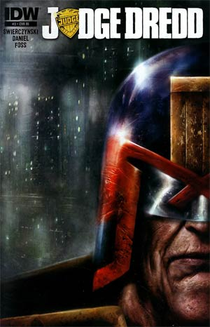 Judge Dredd Vol 4 #3 Incentive Nick Percival Variant Cover
