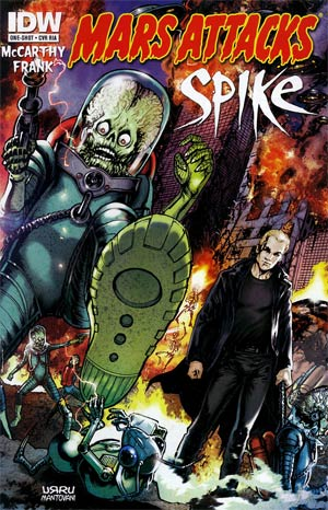 Mars Attacks Transformers One Shot Incentive Mars Attacks Spike Variant Cover