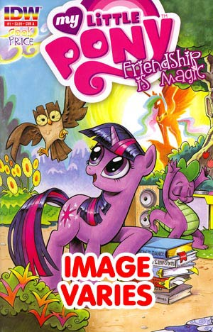 DO NOT USE (DUPLICATE LISTING) My Little Pony Friendship Is Magic #1 3rd Ptg (Filled Randomly With 1 Of 6 Covers)