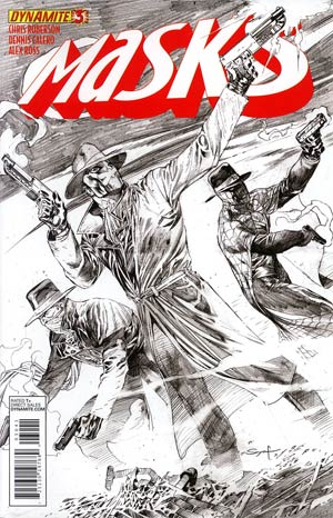 Masks #3 Incentive Ardian Syaf Sketch Cover