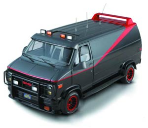 Hot Wheels Heritage A-Team Van 1/18 Scale Die-Cast