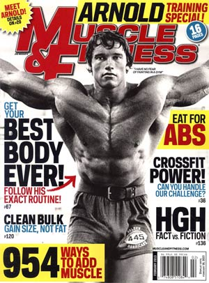 Muscle & Fitness Magazine Vol 74 #2 Feb 2013