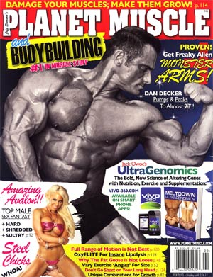 Planet Muscle Magazine Jan / Feb 2013