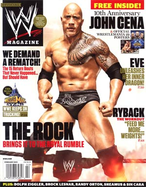 WWE Magazine #85 Feb 2013