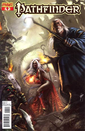 Pathfinder #4 Regular Lucio Parrillo Cover