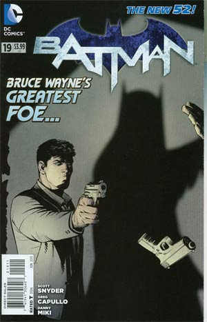 Batman Vol 2 #19 Regular Greg Capullo Cover