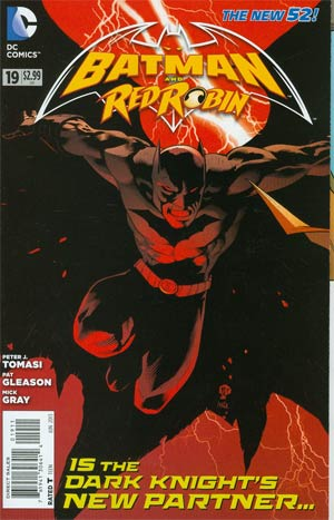 Batman And Red Robin #19 Cover A Regular Mick Gray Cover