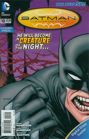 Batman Incorporated Vol 2 #10 Combo Pack With Polybag