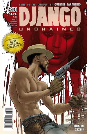 Django Unchained #5 Regular Frank Quitely Cover