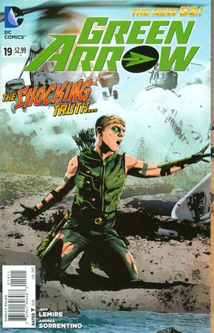 Green Arrow Vol 6 #19 Regular Andrea Sorrentino Cover