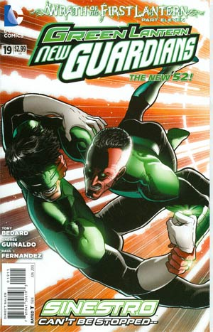 Green Lantern New Guardians #19 Regular Aaron Kuder Cover (Wrath Of The First Lantern Tie-In)