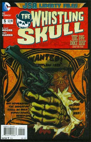 JSA The Liberty Files The Whistling Skull #5