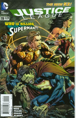 Justice League Vol 2 #19 Regular Ivan Reis Cover