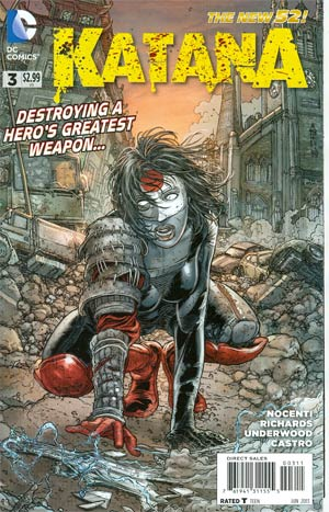 Katana #3 Regular Juan Jose Ryp Cover