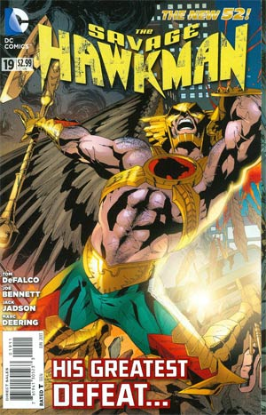 Savage Hawkman #19