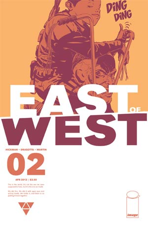 East Of West #2 1st Ptg