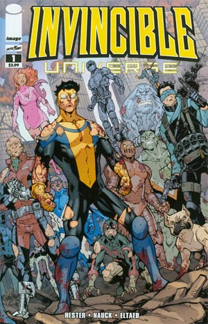 Invincible Universe #1 1st Ptg