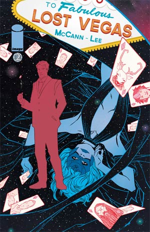Lost Vegas #2 Regular Cover B Declan Shalvey