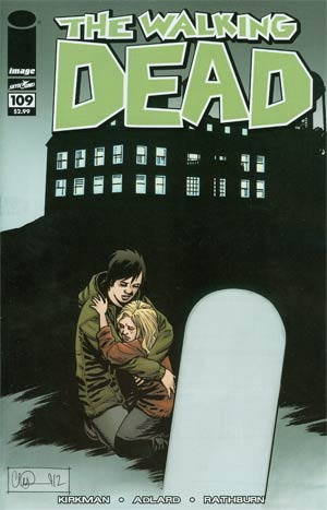 Walking Dead #109 Regular Charlie Adlard Cover