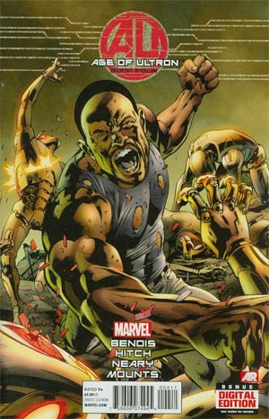 Age Of Ultron #4 1st Ptg Regular Bryan Hitch Cover