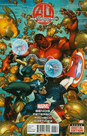 Age Of Ultron #6 Regular Brandon Peterson Cover
