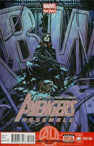 Avengers Assemble #14AU Regular Nic Klein Cover (Age Of Ultron Tie-In)