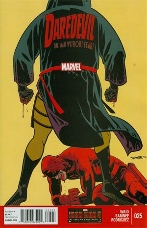 Daredevil Vol 3 #25 Regular Chris Samnee Cover