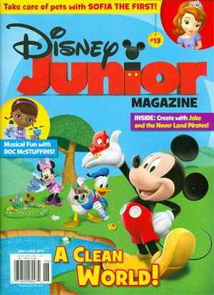 Disney Junior Magazine #13
