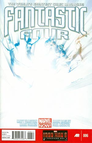 Fantastic Four Vol 4 #6 Regular Mark Bagley Cover